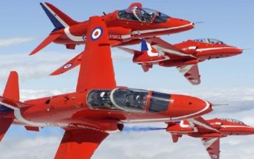 RAF Red Arrows flight simulator