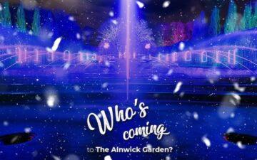 Christmas Light Trail at Alnwick Garden
