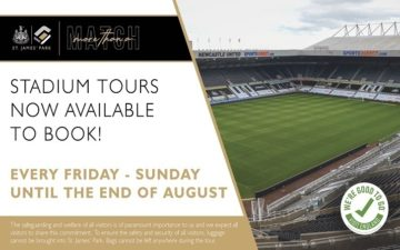 St James' Park Rooftop Tours