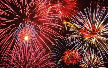 Tynemouth Cricket Club Fireworks Display