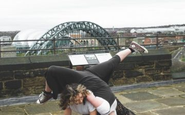 A Case in Point with What's that Dance livestreamed from Newcastle Castle for International Women's Day