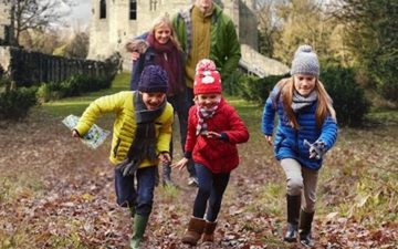 Christmas Adventure Quest at Belsay Hall