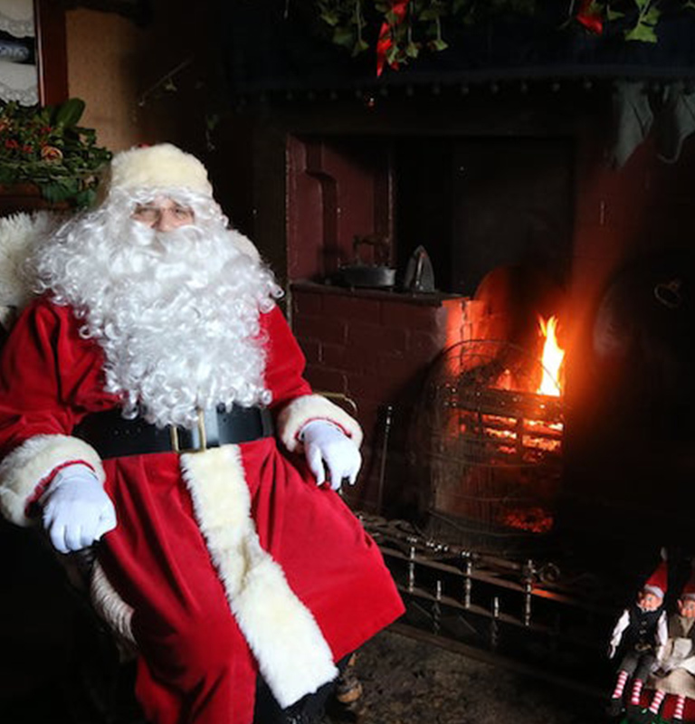 Online Father Christmas at Beamish Museum Event page