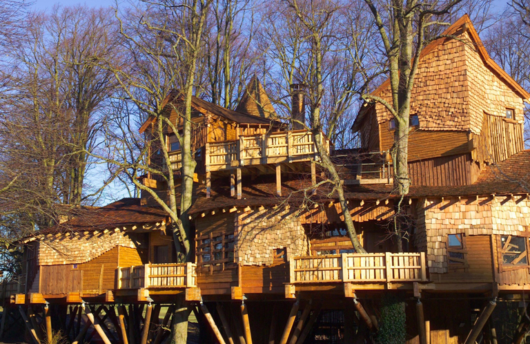 Further Afield The Alnwick Garden Treehouse HERO