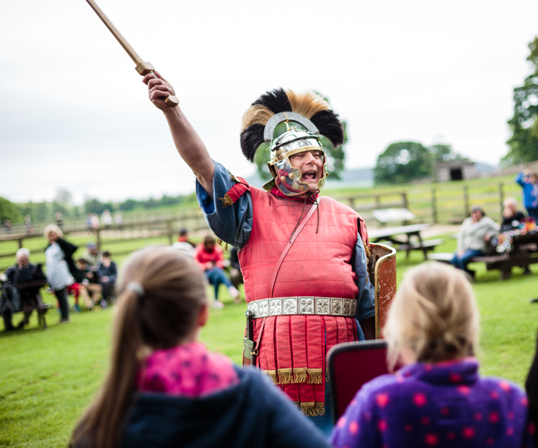 Hadrians Wall Chesters Roman Fort HERO 2