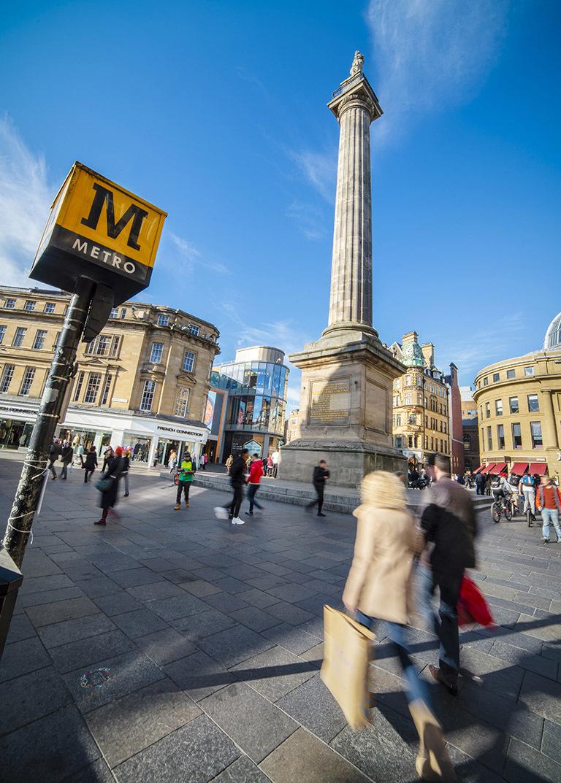 Newcastle city centre Newcastle Gateshead Initiative