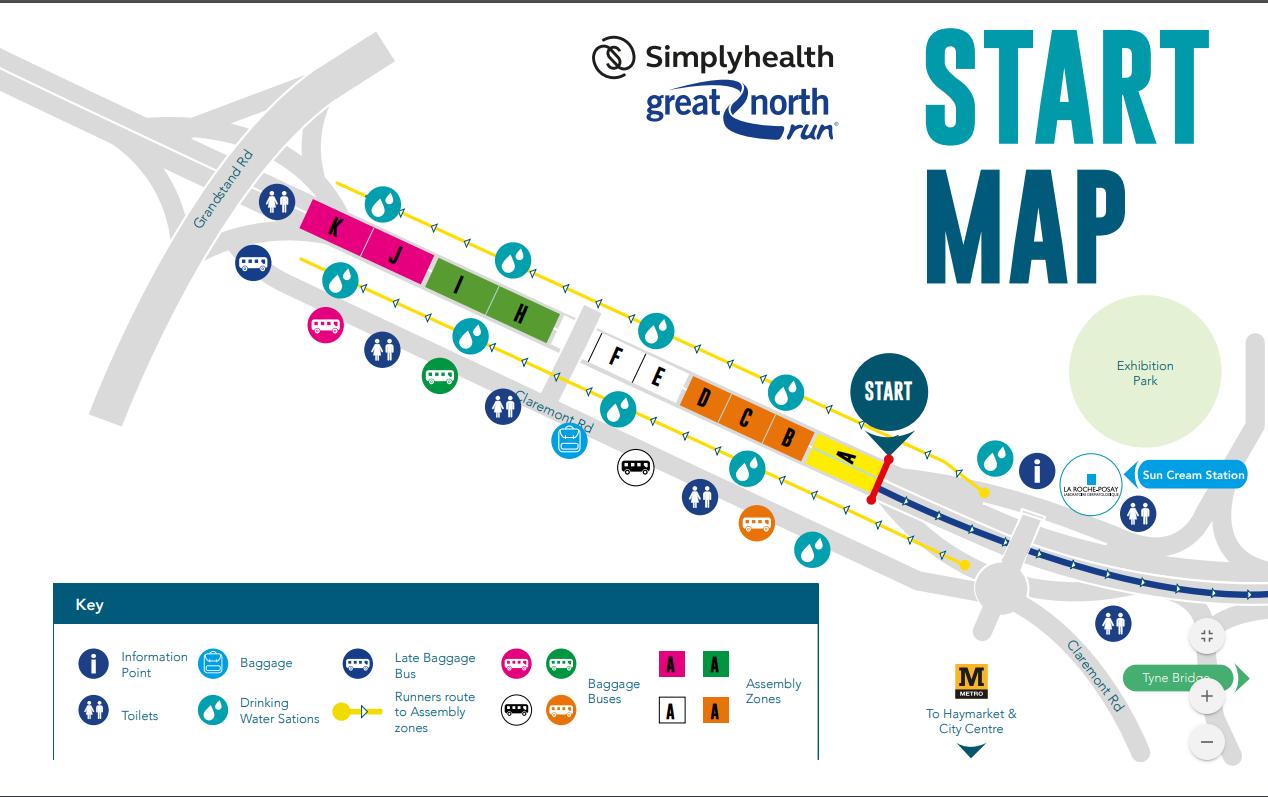 GNR start map