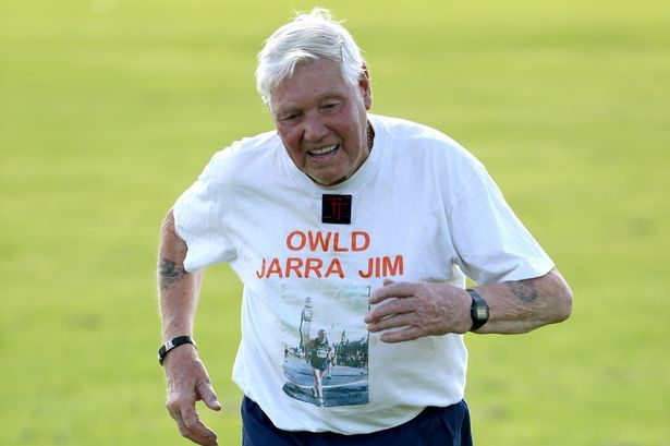 Jim Purcell 92 AKA Jarra Jim from Jarrow South Tyneside