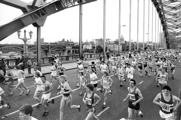 The Great North Run 28 June 198
