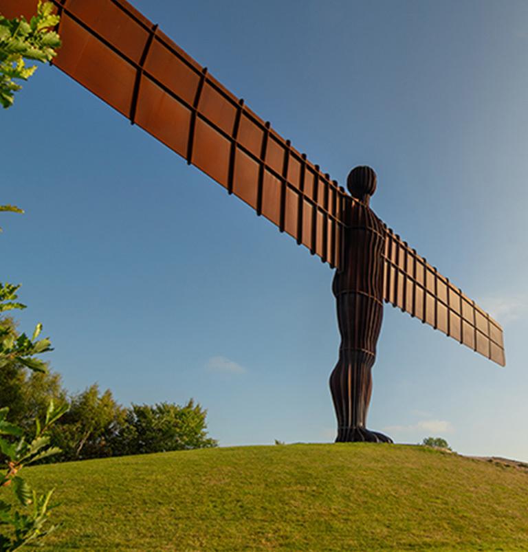 Angel of the North Virtual Christmas Market Newcastle and Gateshead