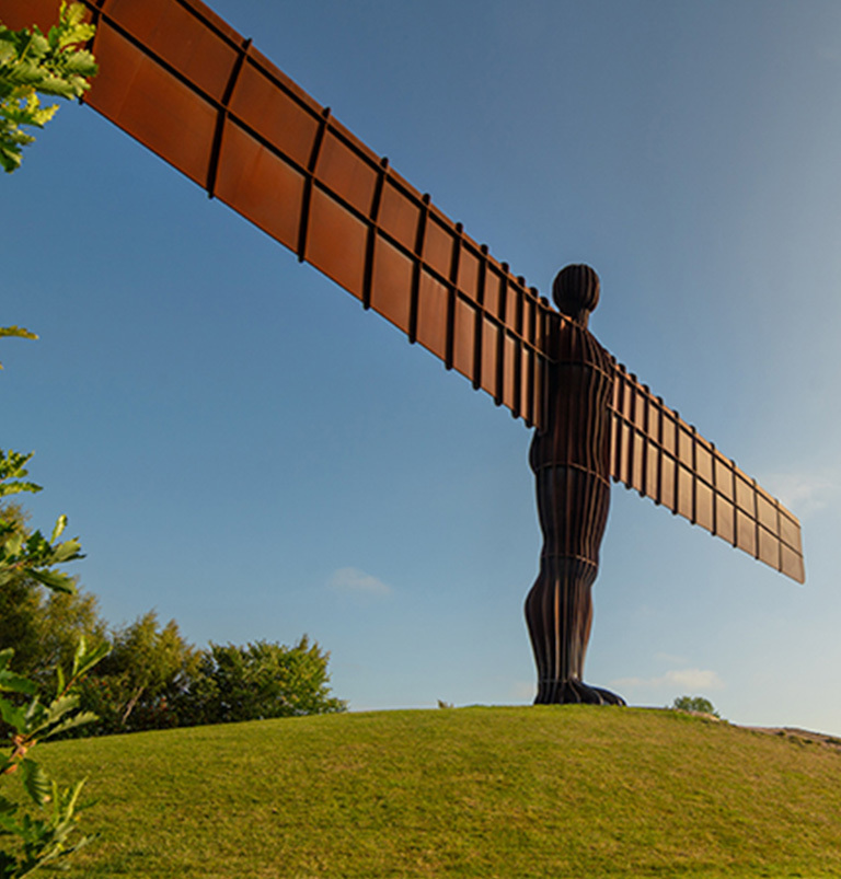 Angel of the North Virtual Christmas Market Newcastle and Gateshead