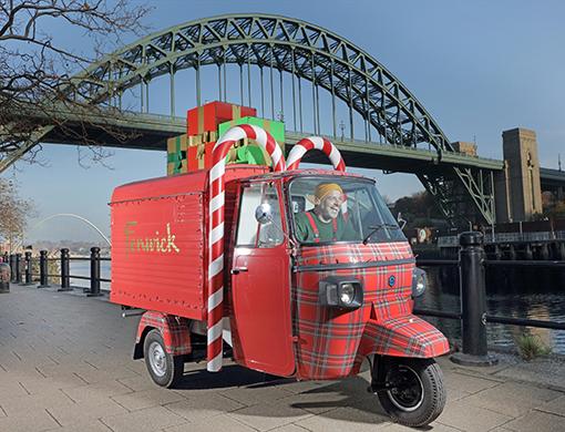 Fenwick Newcastle Elf delivery service