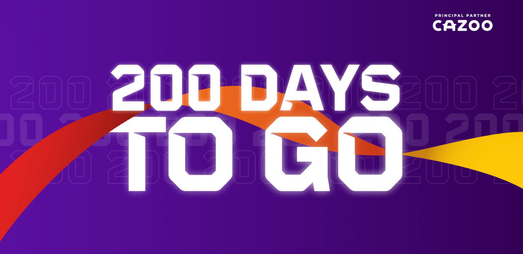 200 Days To Go Facebook Header