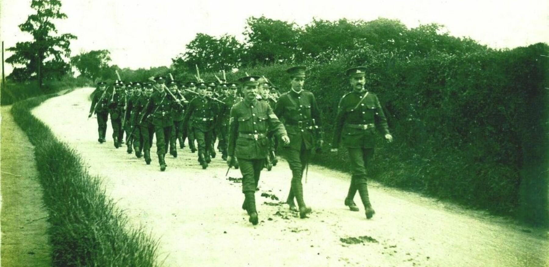 5th battalion on a training march 997 642 80