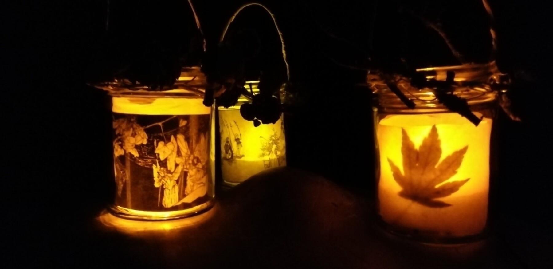 Halloween lanterns handmade