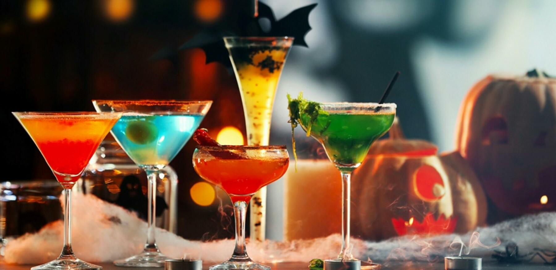 Pumpkin cocktails