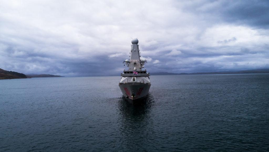 HMS DRAGON in Jura, Scotland