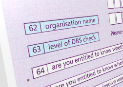 Enhanced DBS checks