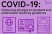 Covid-19 Changes to documents