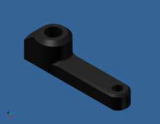 Elevator Control Lever Arm - KSM10-50C01