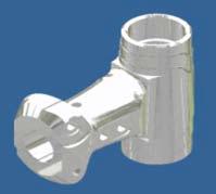Cyber Rotor Hub ALU 7075 Silver - KSM10-50H01