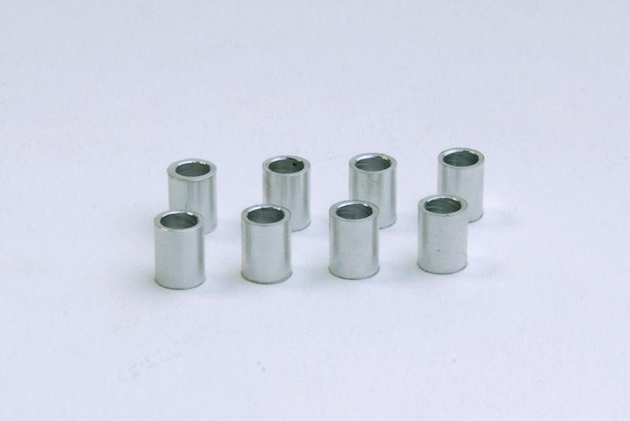 Cyclic Servo mount Bush FUTABA ALU silver - KSM10-C11
