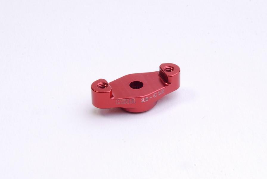 Universal servo horn JR ALU red - KSM10-C15