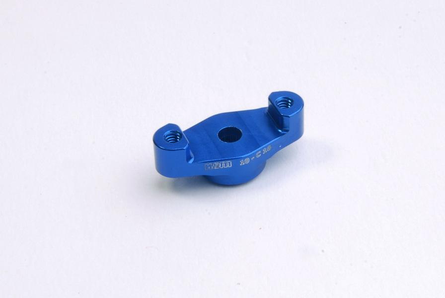 Universal servo horn FUTABA ALU blue - KSM10-C16