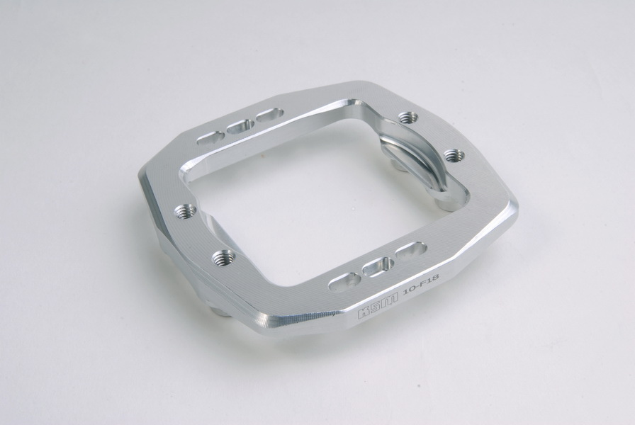 Engine mount center ALU silver - KSM10-F18