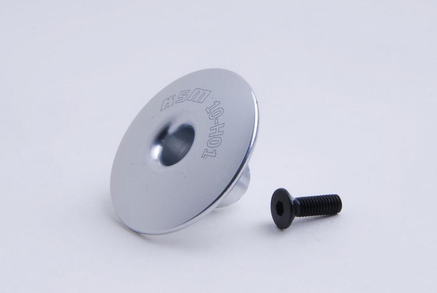 Head button ALU silver - KSM10-H01