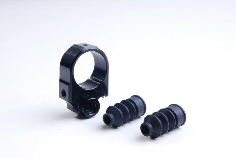 Tail Boom Support Drive Set ALU Black - KSM10-T11