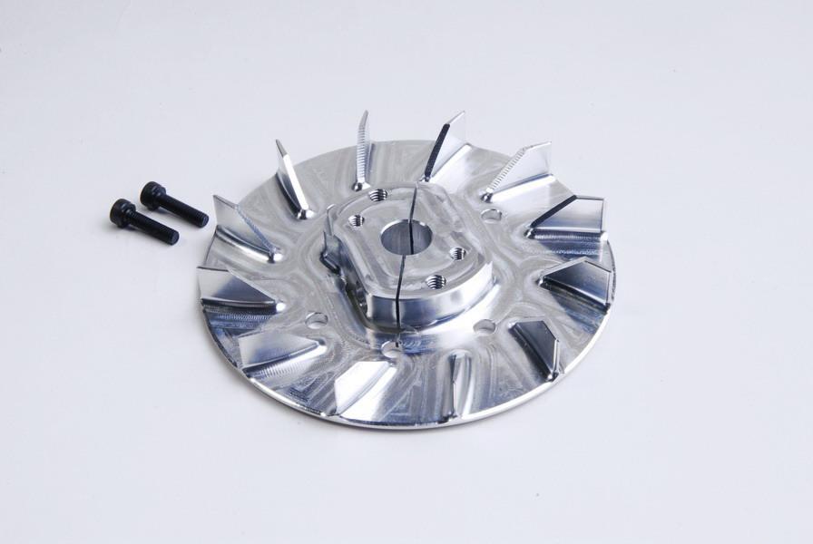 Cooling Fan Hub  ALU Silver - KSM10-TS12