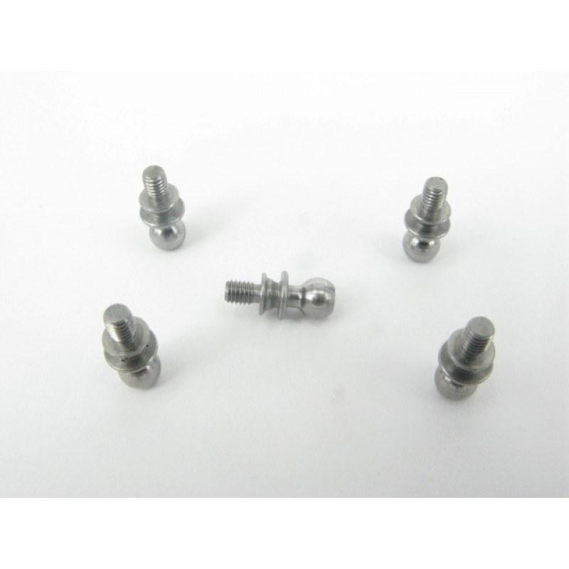 Linkage Ball M3x4.95x6.5 (5/Pack.) - KSM53-106