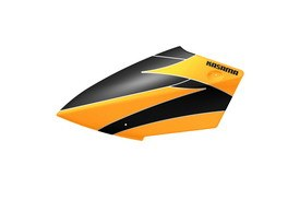 Painted Canopy Fiber Glass for Electric, Yellow & Black - KSM70-F17