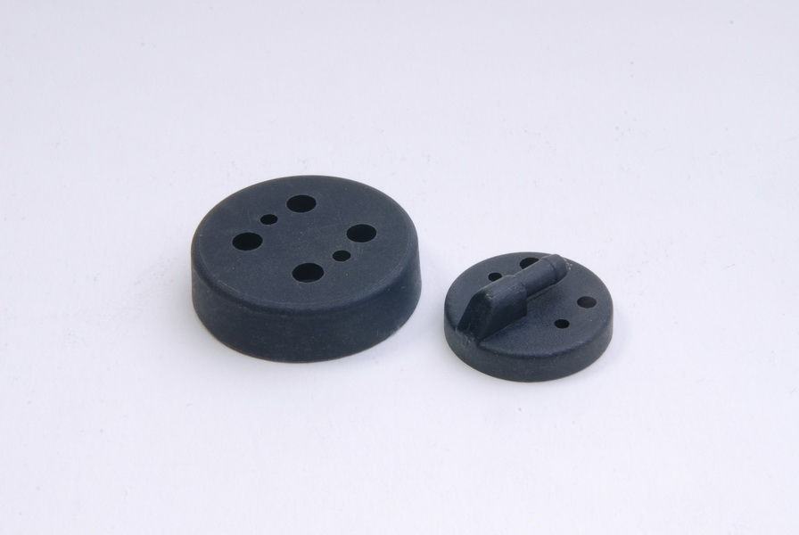 Fuel Tank Cap Set Plastic Black - KSM70-FT02