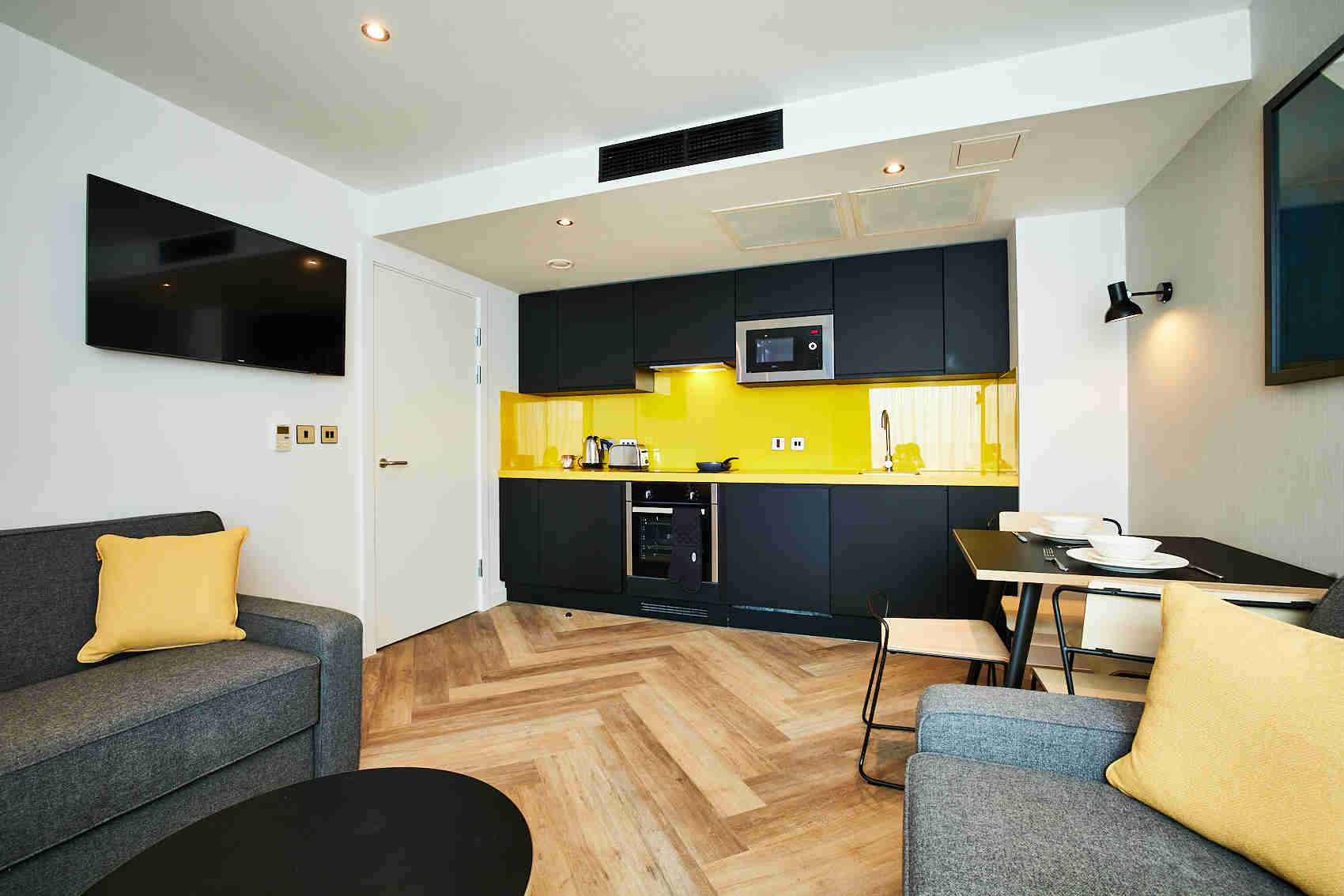 Apartment room, staycity Manchester