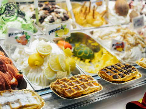 Continental Breakfast buffet At Landmark Grand Hotel