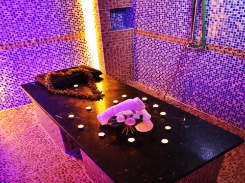 moroccan bath golden flower personal care spa