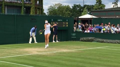 Elena Vesnina Forehand Groundstroke