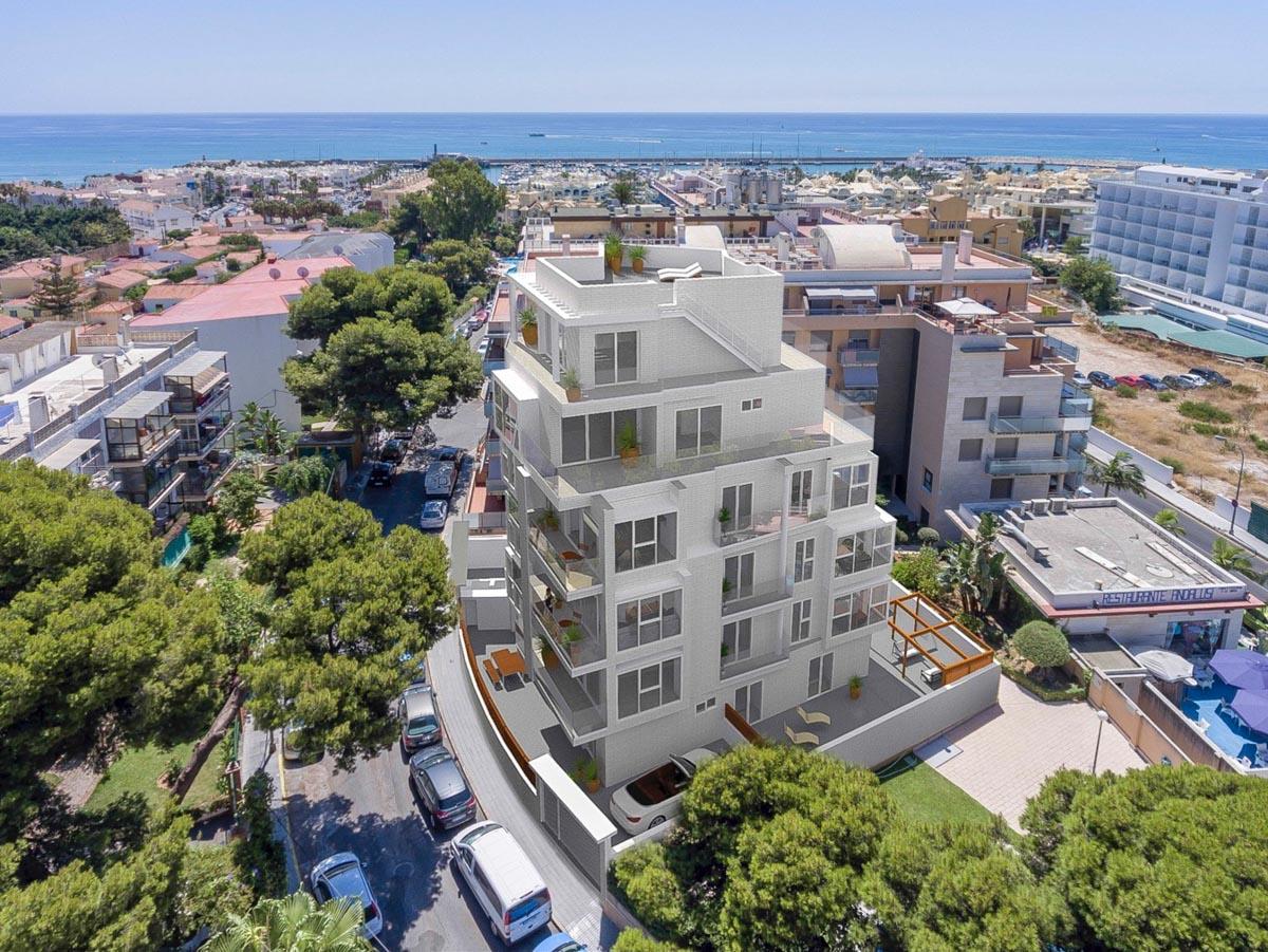 Apartamentos en el centro de la ciudad cerca del puerto de Benalmádena