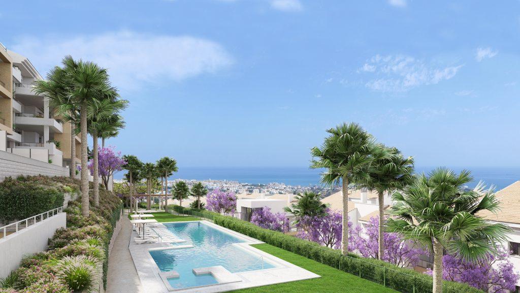 Apartamentos contemporáneos con magníficas vistas al mar