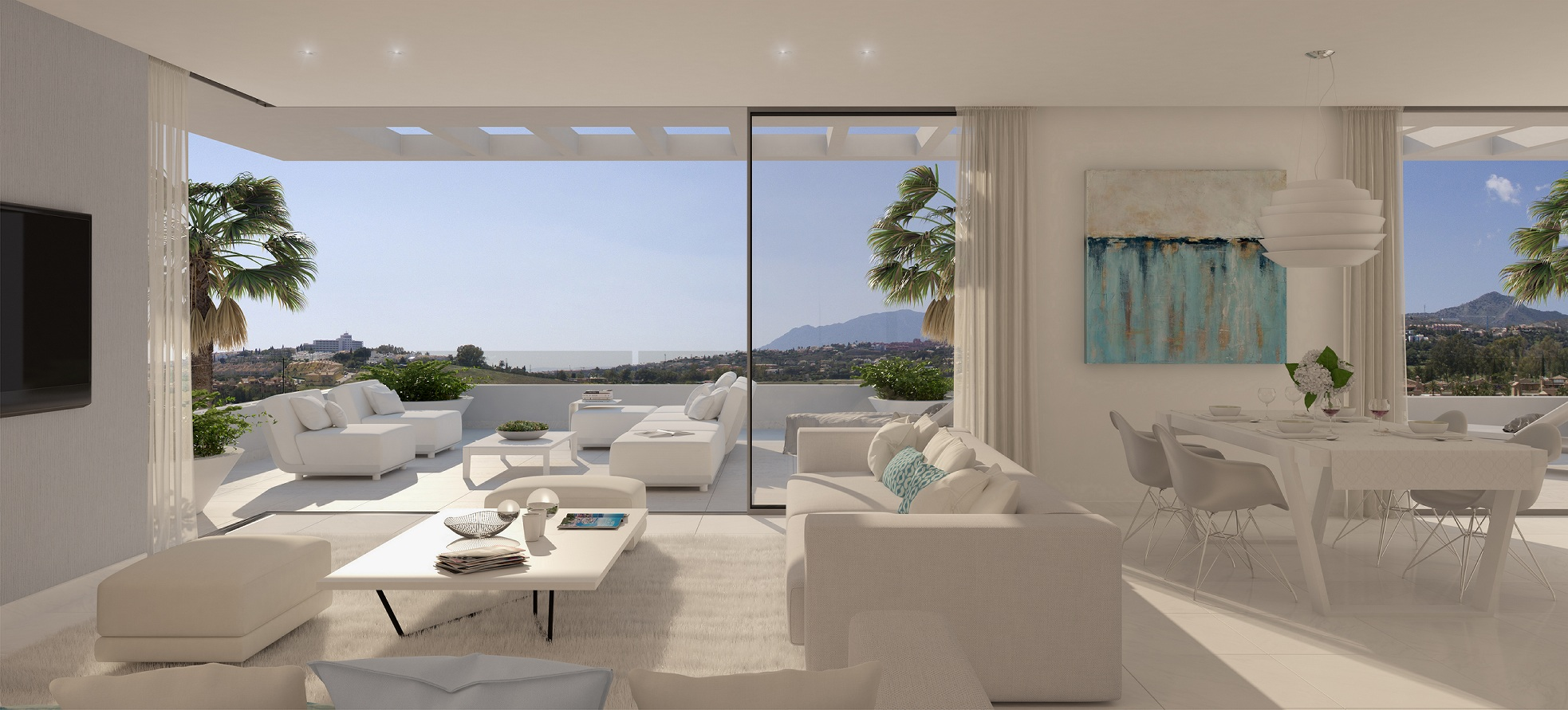Contemporary apartments in Estepona