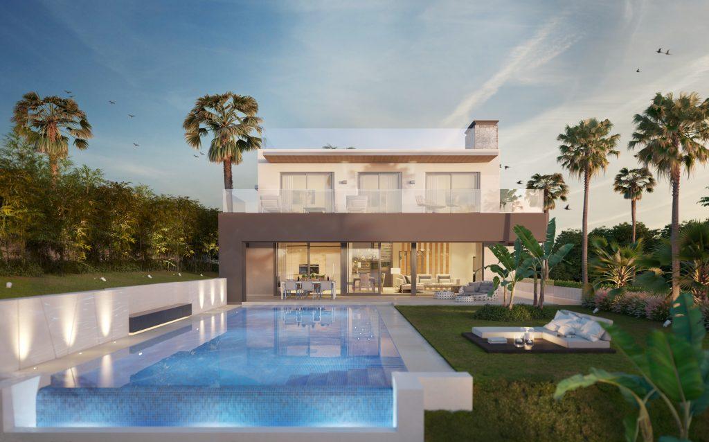 Proyecto exclusivo de villa en el Valle del Golf de Nueva Andalucía, Marbella