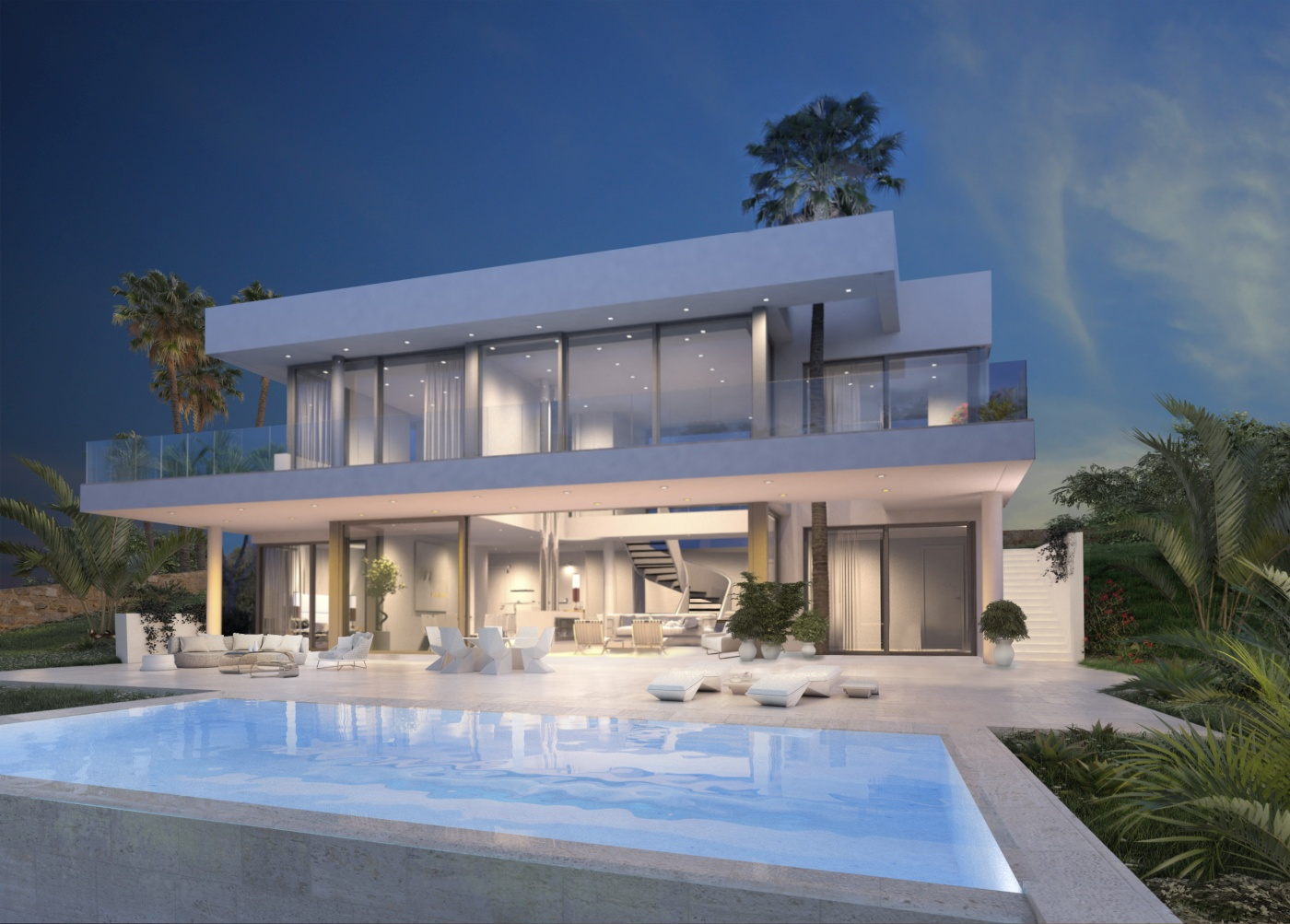 New modern villas in sotogrande