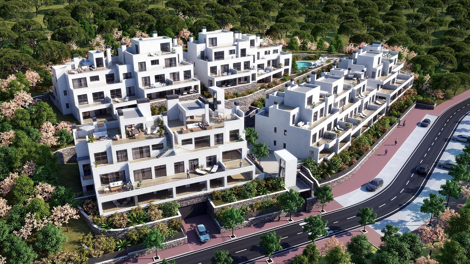 Nuevos apartamentos en Marbella con vistas panorámicas