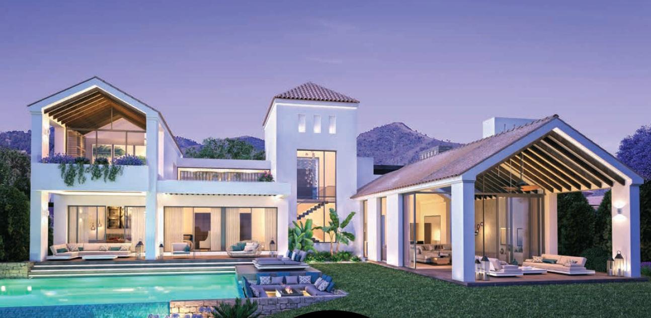 Desarrollo de lujo de 11 exclusivas villas de golf
