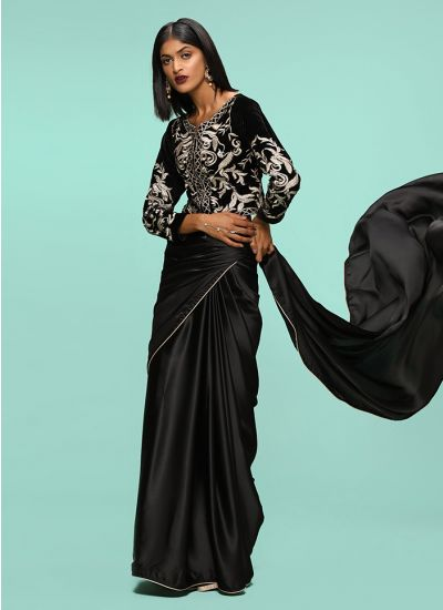 Zari Baroque Pattern Saree