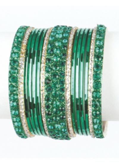 Crystal Glass Bangles