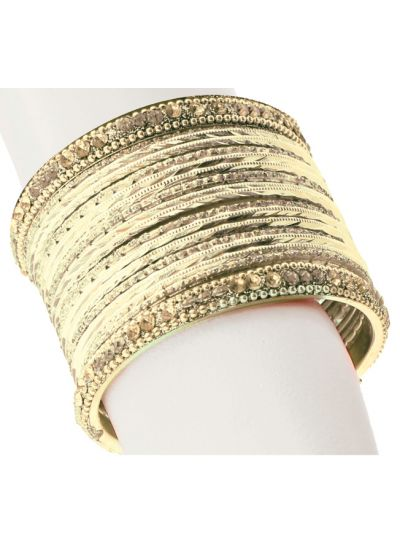 Abstract Bangle Set