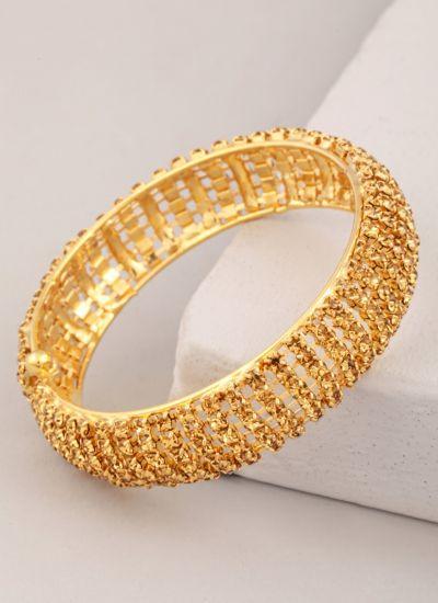 Gold Diamonte Topaz Bracelet